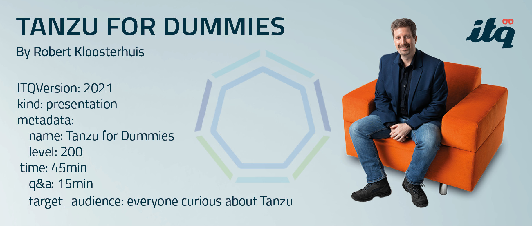 "Presentation ""Tanzu for Dummies"" – 29th Jan 2021"